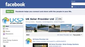 UK Solar Provider @ Facebook